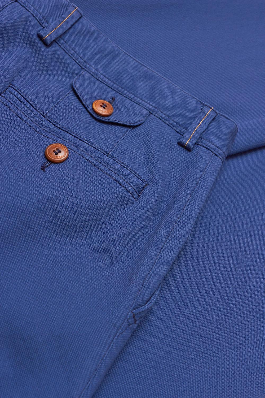 Брюки «chinos» синего цвета Vaismann 19723