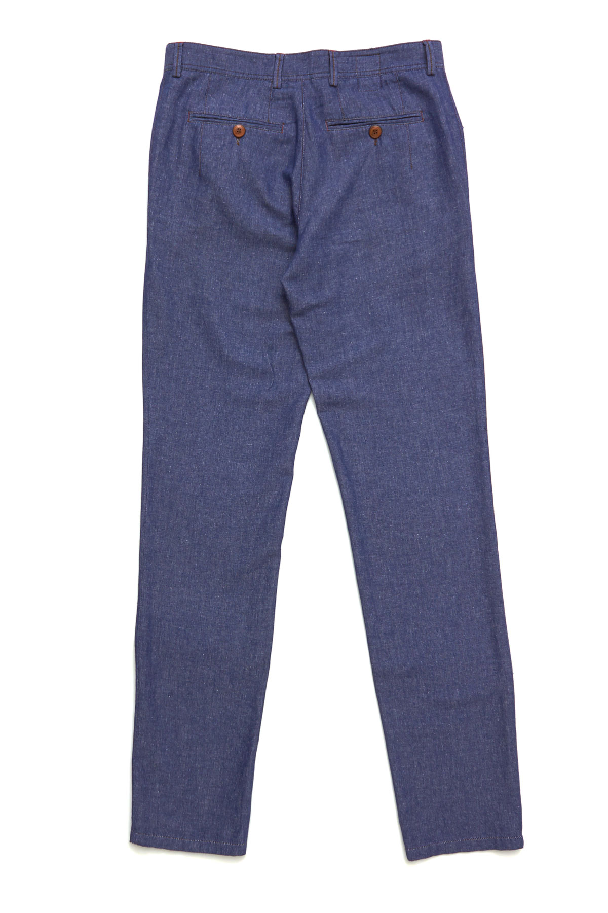 Брюки «chinos» синего цвета Vaismann 19724