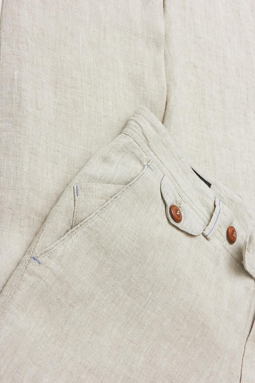 Брюки «chinos» белого цвета Vaismann 19736