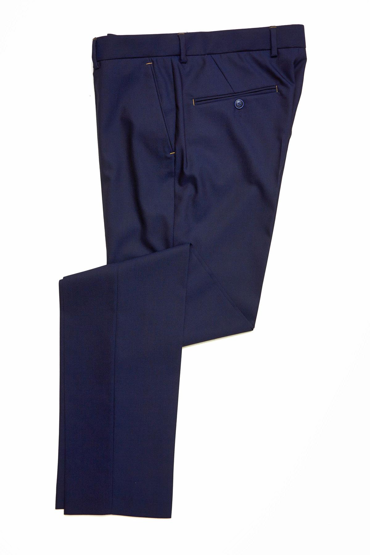 Брюки синего цвета Vaismann 19701