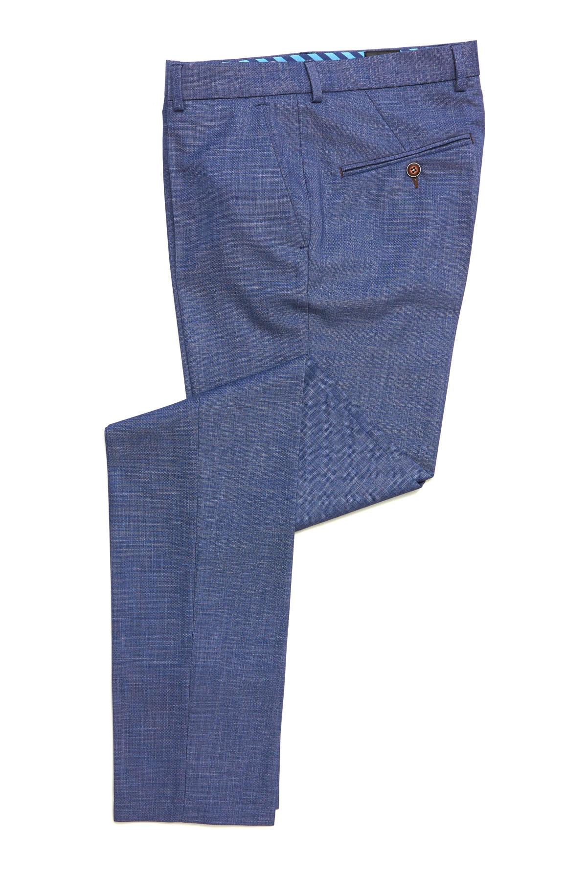 Брюки синего цвета Vaismann 19702