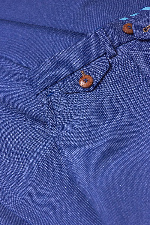 Брюки синего цвета Vaismann 19704