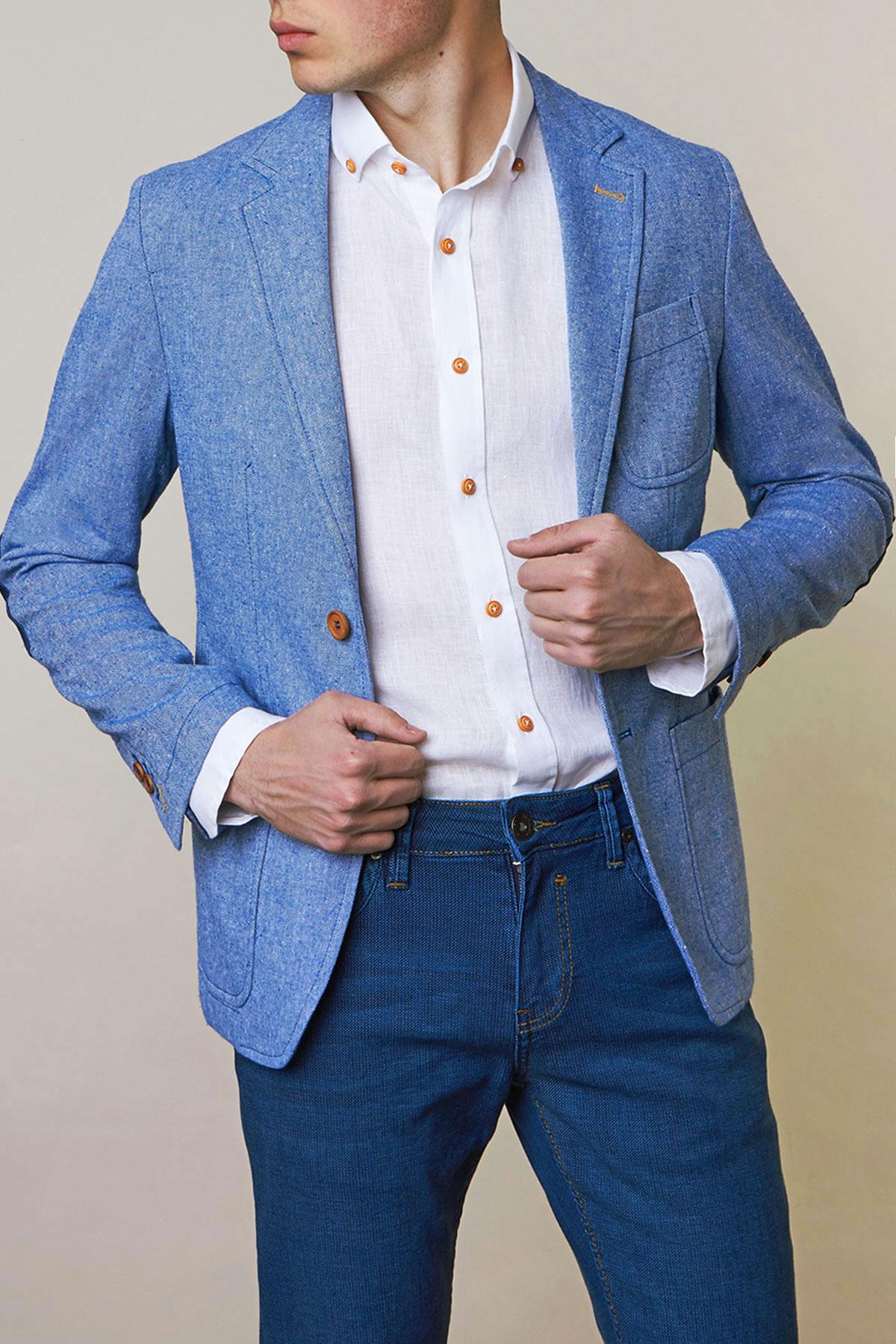 Пиджак синего цвета Vaismann 1925-18