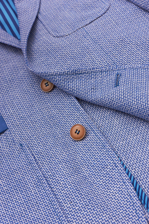 Пиджак голубого цвета Vaismann 1926-17