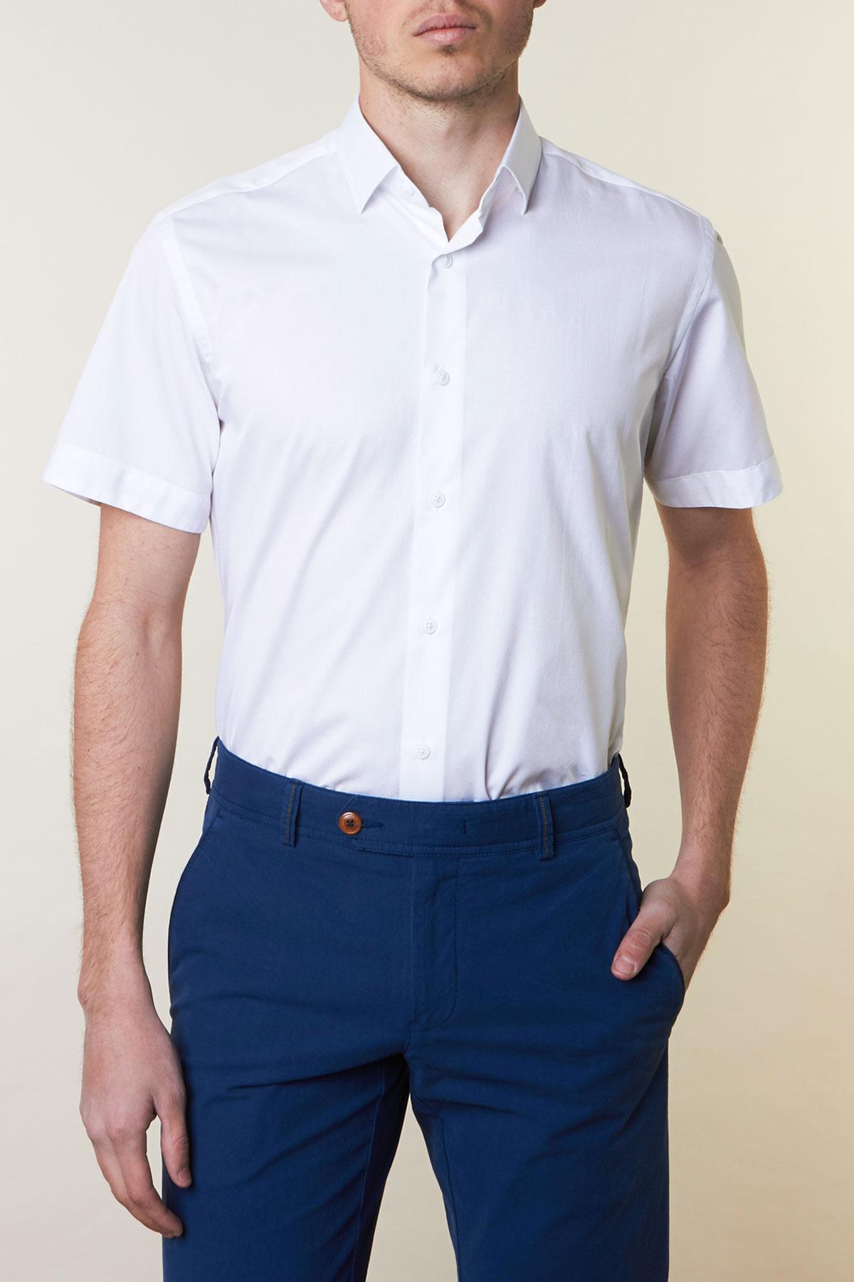 Рубашка белого цвета Vaismann 19111