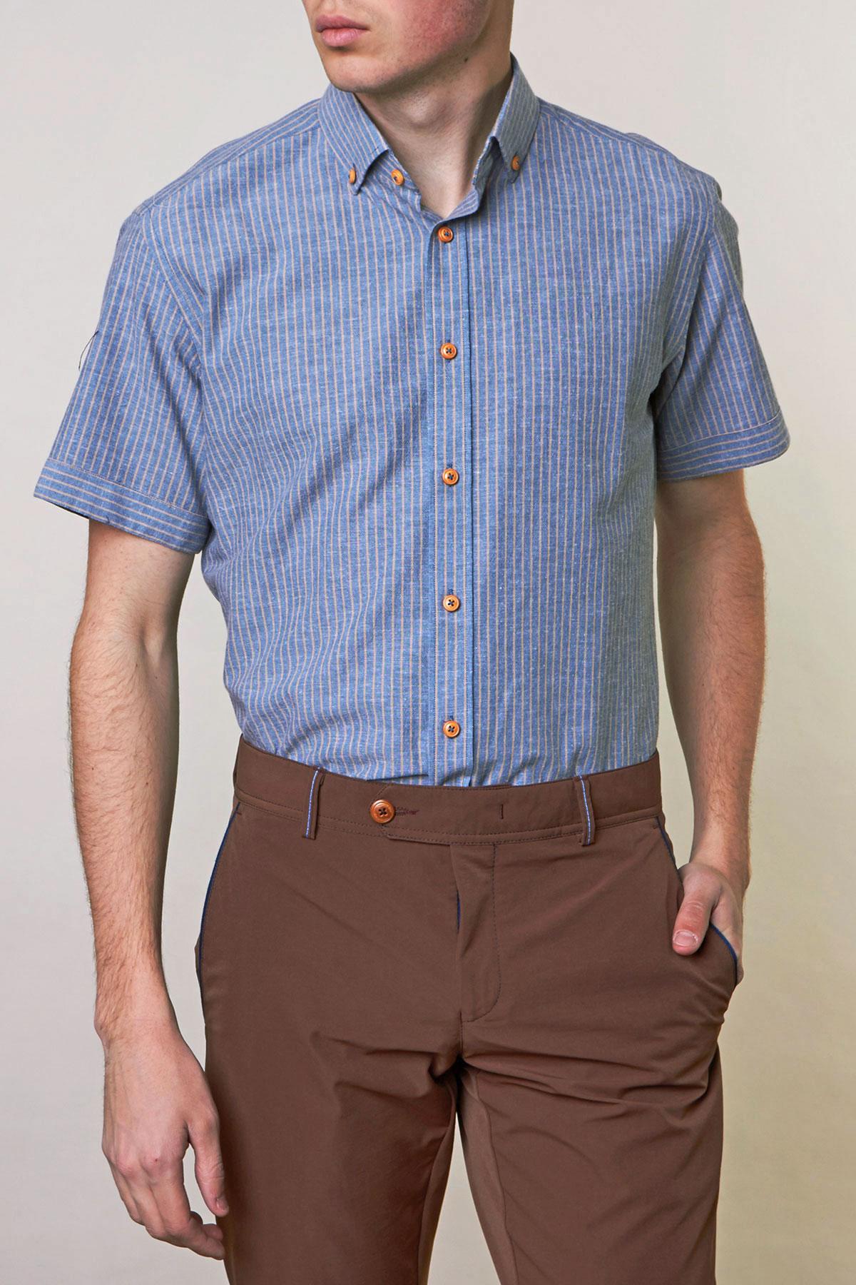 Рубашка в полоску Vaismann 19114