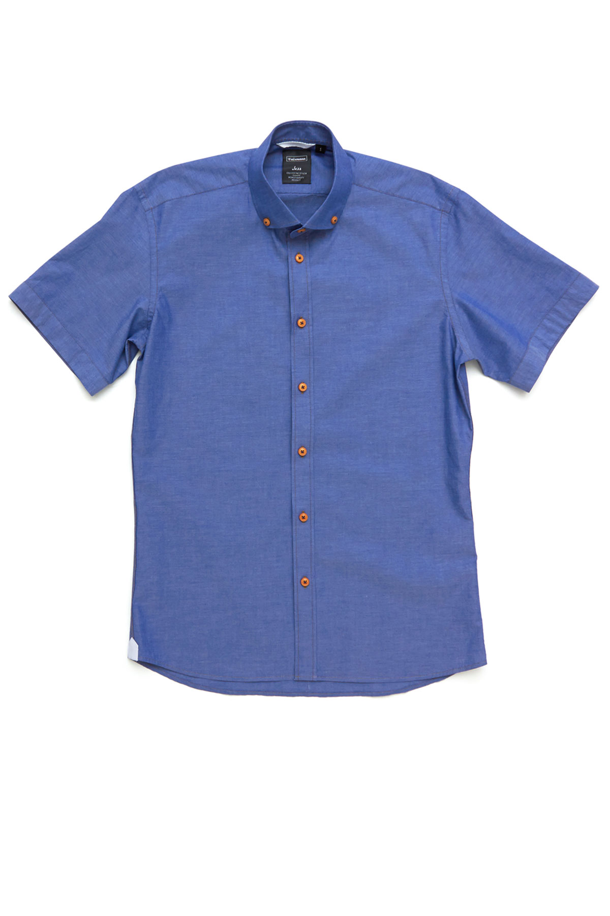 Рубашка синего цвета Vaismann 19117