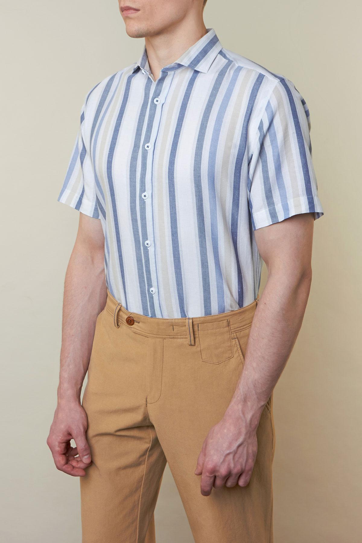 Рубашка в полоску Vaismann 19122