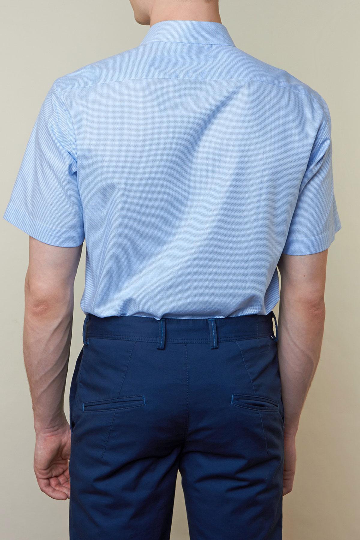 Рубашка голубого цвета Vaismann 19123