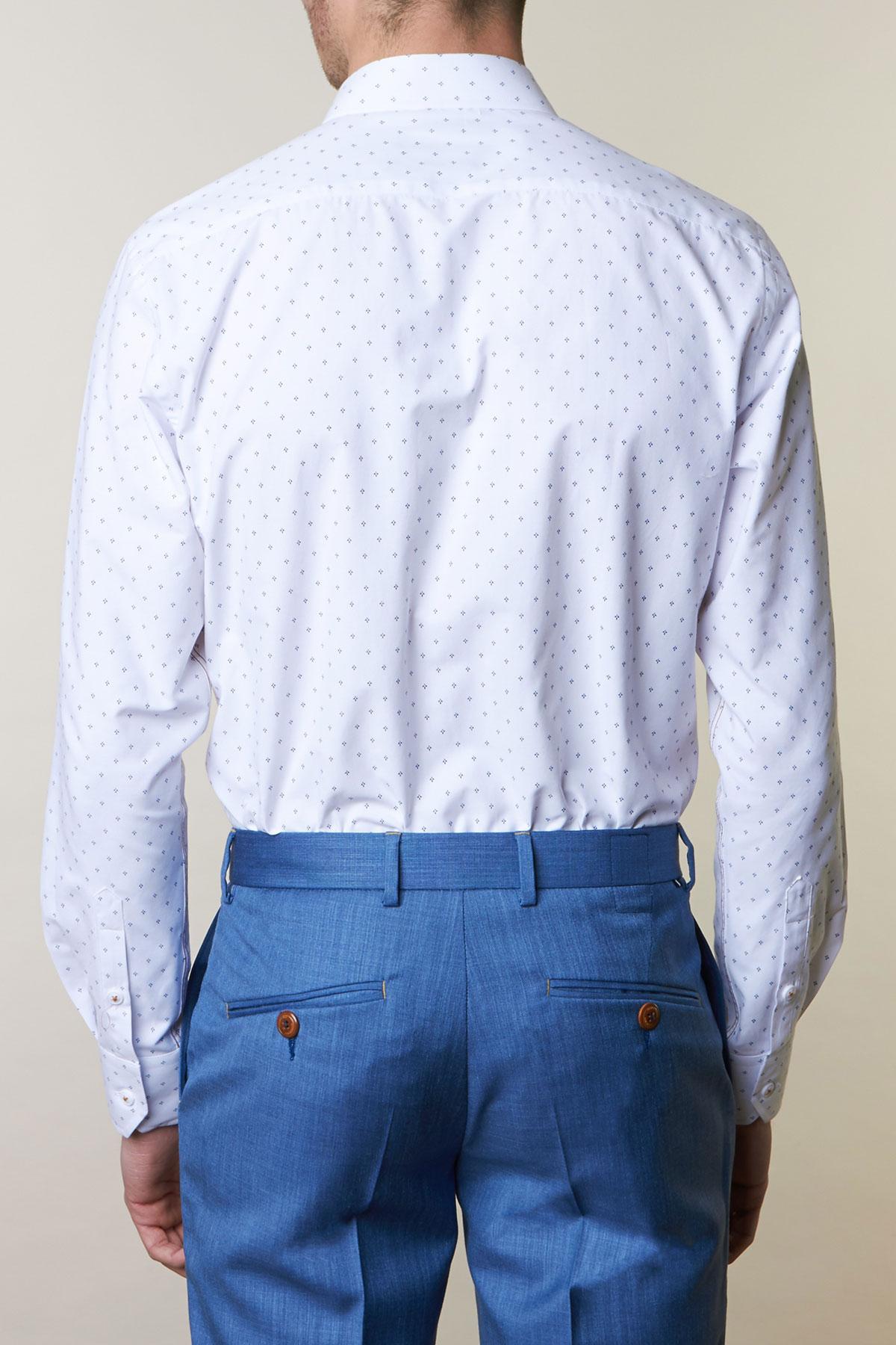 Рубашка белого цвета Vaismann 19139