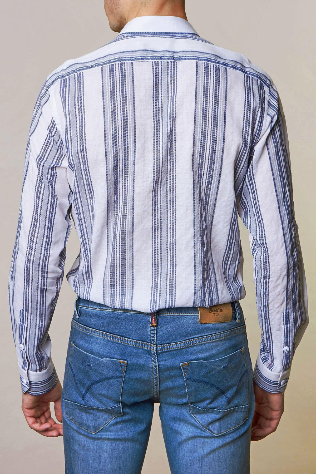 Рубашка в полоску Vaismann 19141