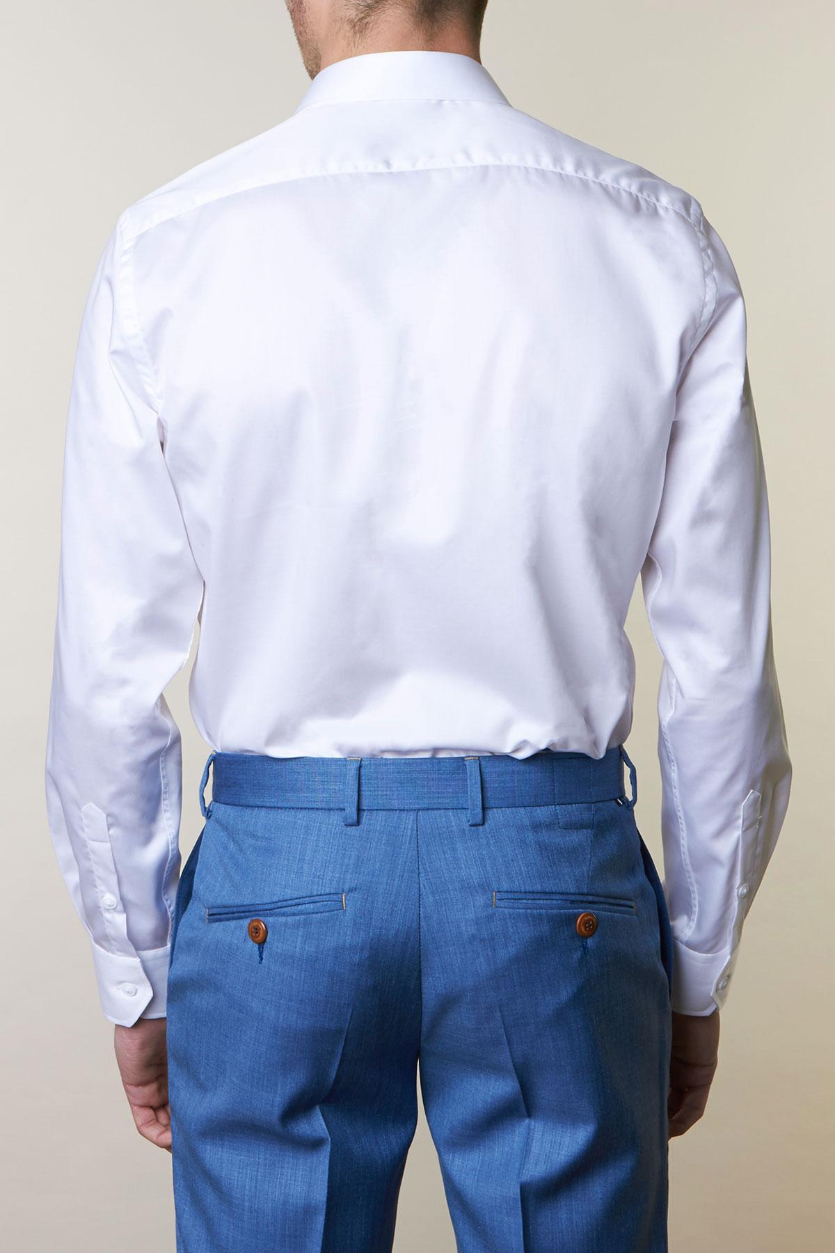 Рубашка белого цвета Vaismann 19142