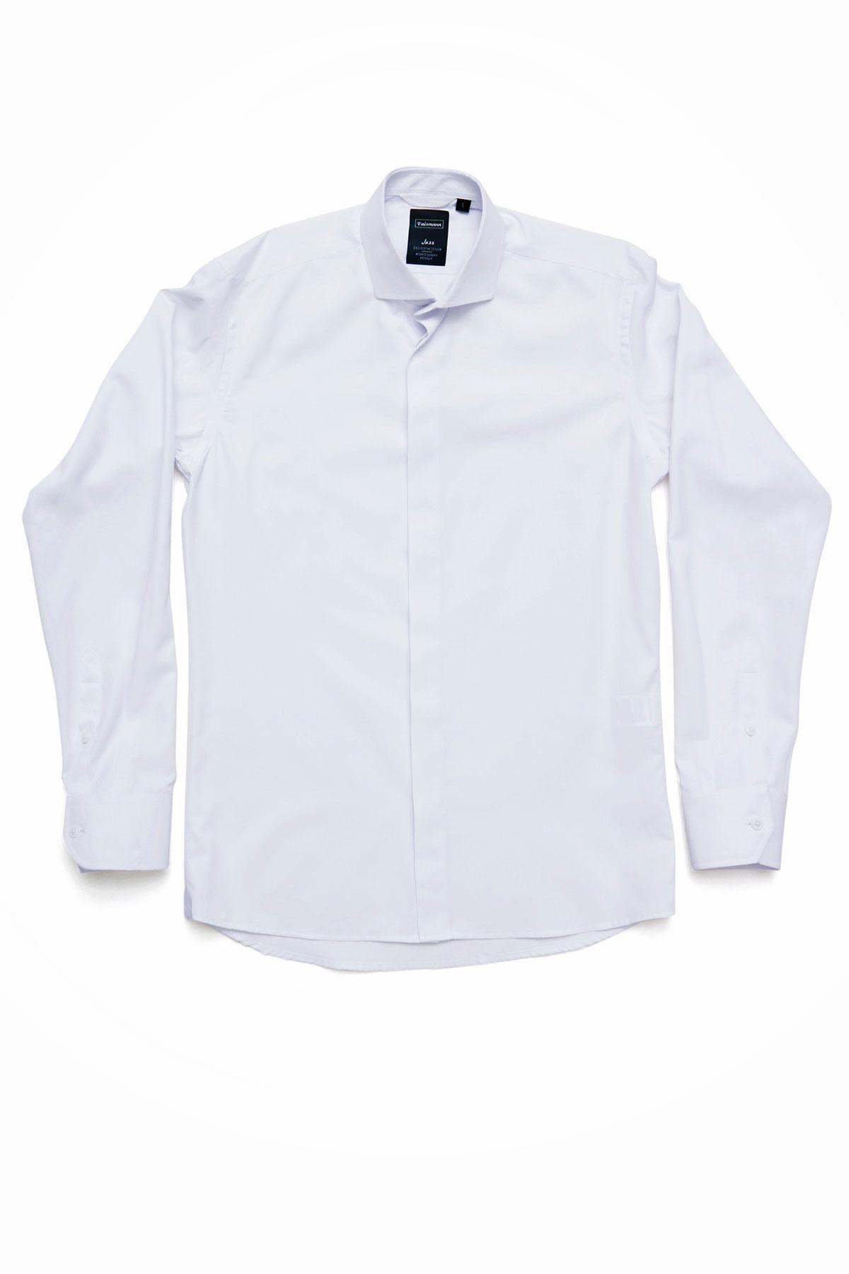 Рубашка белого цвета Vaismann 19146