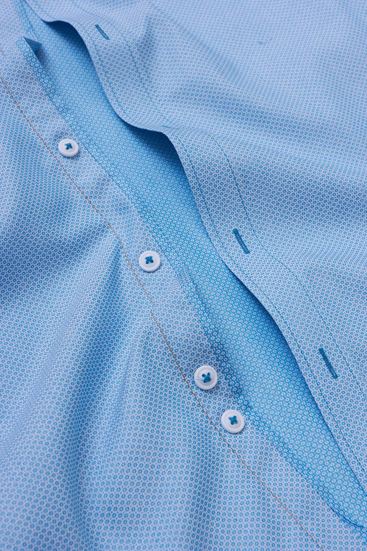 Рубашка бирюзового цвета Vaismann 19158