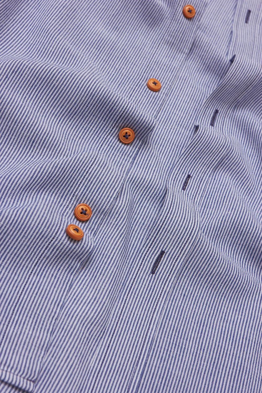Рубашка в синюю полоску Vaismann 19162